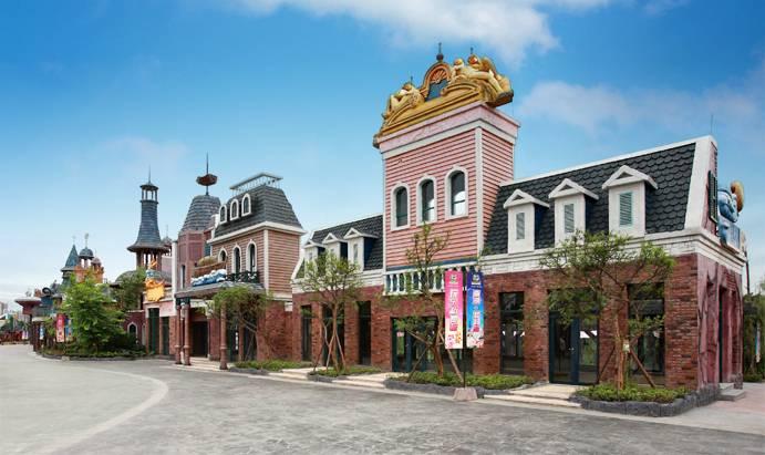 南湖梦幻岛主题乐园一期占地400亩